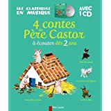 4 contes du P�re Castor � �couter d�s 2 ans (1CD audio)par Caroline Rivi�re