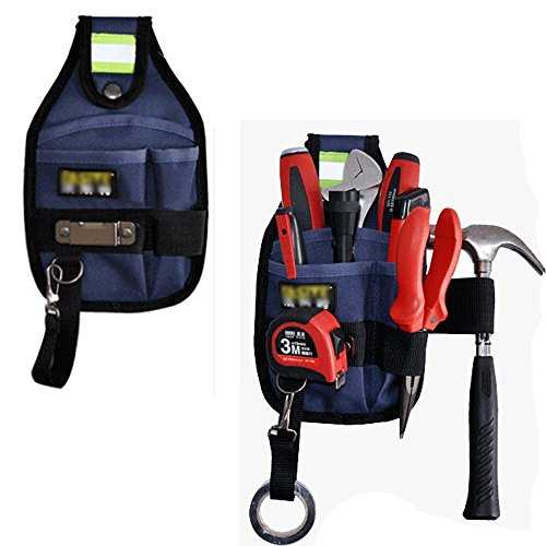 Miraclekoo Small Electrical Maintenance Tool Pouch Technician