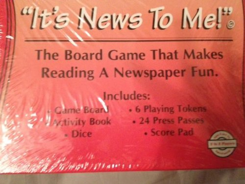 It's News to Me!