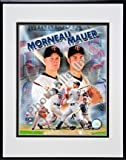 Photofile Minnesota Twins Joe Mauer & Justin Morneau Matted 8x10 Photo in Aluminum Frame at Amazon.com