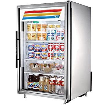 Countertop Height Fridge : ... True White Glass Door Countertop Refrigerator, 7 Cubic Ft: Appliances