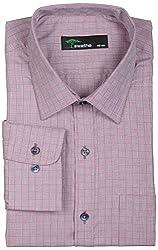 SWATHE Men's Formal Shirt (5995-1-40, Multi-Coloured)