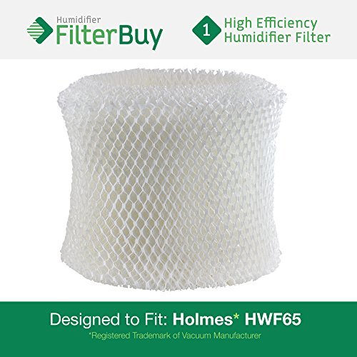 HWF65 Holmes Humidifier Replacement Filter. Replaces HWF-65 & H65-C. Fits Holmes humidifier models HM1800, HM1840, HM1845, HM1850, HM1851, HM1855, HM1865, HM1888, HM1889, HM1895, HM1975, HM2059, HM2060W, HM2090, HM3000, HM3800, HM3850, HM7600, and HM4000. Designed by AFB in the USA (Hwf Filter compare prices)