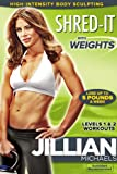 51pb2YKIUkL. SL160  Jillian Michaels: Shred It With Weight