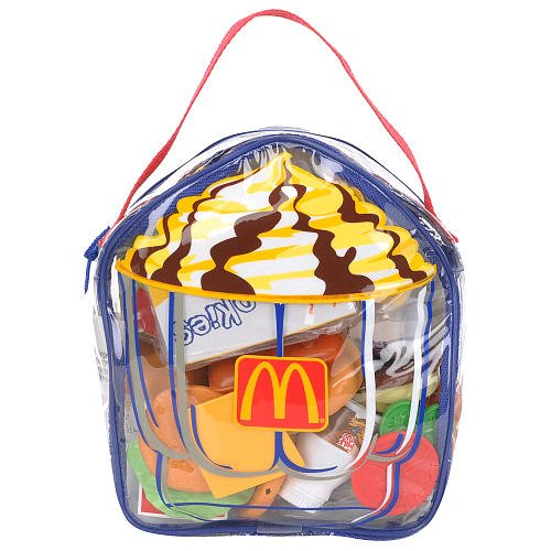37-piece Mcdonald's Playfood Backpack - Sundae