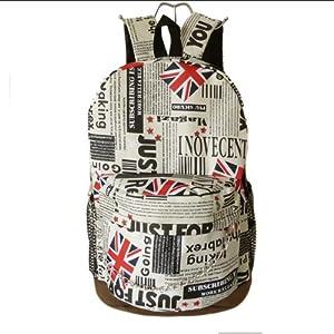 Amazon.com: Vintage London Style Backpack Shoulder Bag