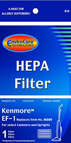 Sears Kenmore Hepa Filter Replacement 86889 20-86889 EF-1 (Kenmore Elite Canister compare prices)