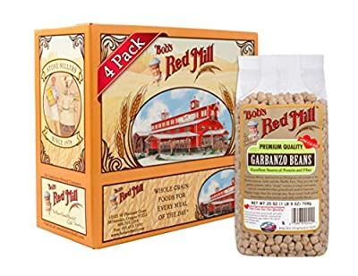 Bob's Red Mill Garbanzo Beans, 25-ounce (Pack of 4) by Bob's Red Mill