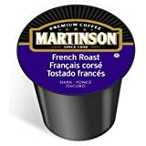 Martinson Coffee Capsules, French Roast Package compatible with Keurig K-Cup Brewers, 48 Count