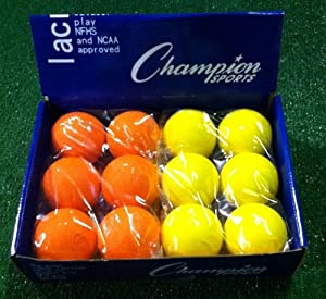 Ladies Blend - Assorted Color NCAA NFHS Lacrosse Balls by Champion