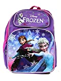 Full Size Purple and Pink Elsa and Anna Disney Frozen Backpack