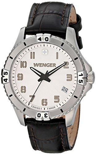 Wenger-Womens-0121106-Analog-Display-Swiss-Quartz-Black-Watch