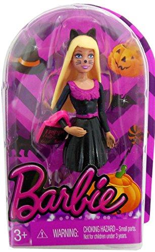 EXCLUSIVE Barbie MINIATURE HALLOWEEN CAT Doll - 2014 - 1