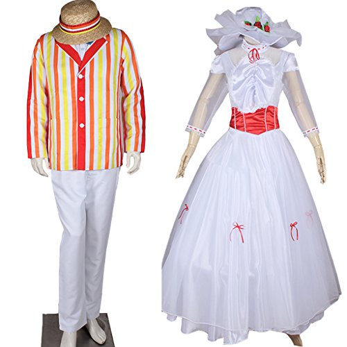 Cosplay Costumes for Mary Poppins Bert Outfit and Mary Poppins Princess