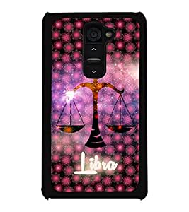 PrintVisa Metal Printed Libra tulla Designer Back Case Cover for LG G2-D4901