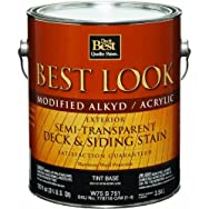 - W75S00751-16 Best Look Exterior Oil-Based Semi-Transparent Siding & Deck Stain