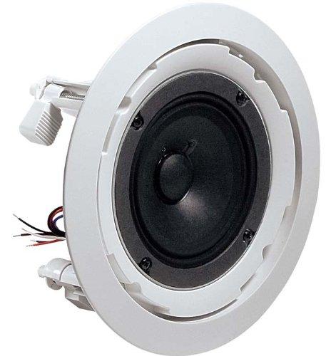 Jbl 8124 In Ceiling Speaker, 4-Inch Full Range Speaker With 70 Volt/100 Volt Taps, 130° Coverage - Single Speaker