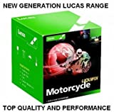 Lucas Motorcycle Scooter Battery Yamaha YT12B-BS XV650 V-Star, XVS Drag Star
