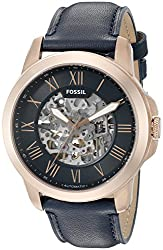 Fossil Grant Analog Black Dial Mens Watch - ME3102