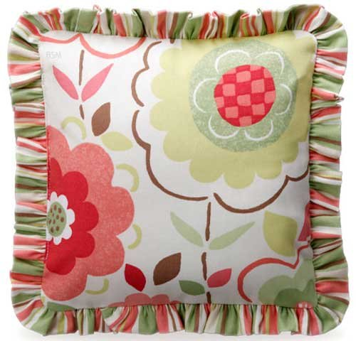 Brianna Decorative Floral Pillow