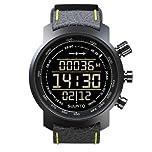 Buy Wristwatch Suunto Elementum Terra Black yellow Leather - E by Suunto