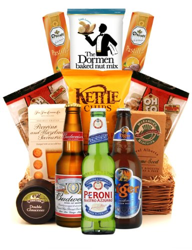 Oh So...Scrummy Beer and Snacks Food Hampers - SGS-106