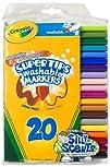 Crayola 20ct Washable Super Tips (5 F…