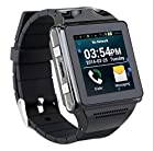 ESON Black IKWEAR IK8 Android Sport Smartphone Watch Mobile GPS 5MP Camera Dual Core