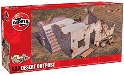 Airfix Desert Outpost Building Kit, 1:32 Scale