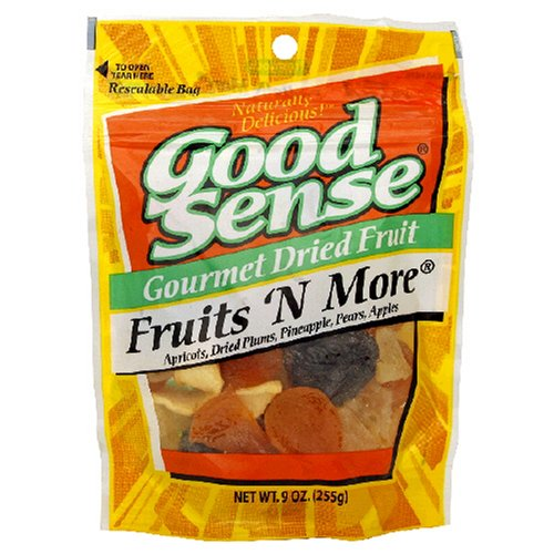 Buy Good Sense Trail Mix, Fruit 'N More, 9-Ounce Bag (Pack of 6) (Good Sense, Health & Personal Care, Products, Food & Snacks, Snacks Cookies & Candy, Snack Food, Trail Mix)