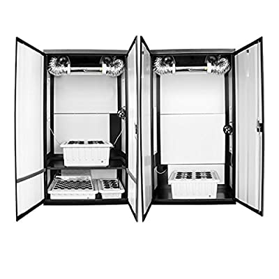 SuperCloset SuperTrinity HPS Grow Cabinet