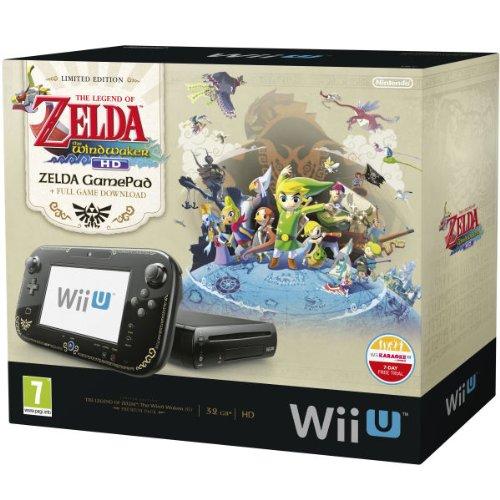 Nintendo Wii U 32GB The Legend of Zelda: Wind Waker HD Premium Pack - Black (Nintendo Wii U)