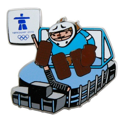 2010 Winter Olympics Canada Hockey Palace Collectible Pin