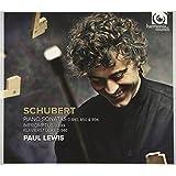 SCHUBERT. Piano Sonatas, Impromptus, Klavierstucke. Lewis