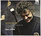 Paul Lewis (piano) Schubert: Piano Sonatas D.840; 850 & 894 (Paul Lewis)