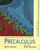 img - for Student's Solutions Manual to Accompany Cohen's Precalculus, 5th Edition book / textbook / text book