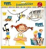 Pippi Langstrumpf Fensterbilder