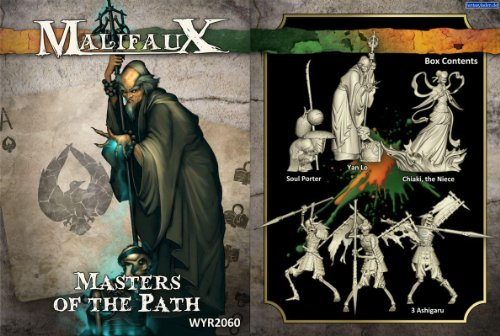 Malifaux: Resurrectionists Masters of the Path Box Set