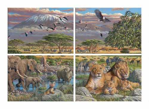 Africa-Family-Puzzle