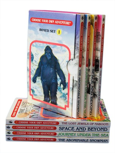 Download The Abominable Snowman/Journey Under the Sea/Space and Beyond/The Lost Jewels of Nabooti (Choose Your Own Adventure 1-4)