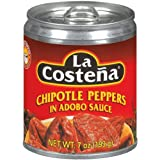 Chipotle Peppers in Adobo Sauce / Chiles Chipotles Adobados, 7oz (Pack of 4)