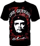 ROCK CHANG T-SHIRT Che Guevara Retro Popart Schwarz R 184 (s m l xl xxl)