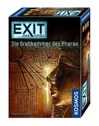 KOSMOS Games 692698 - Exit - The Game, the burial chamber of the Pharaoh