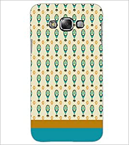 SAMSUNG GALAXY J7 CIRCLE PATTERN Designer Back Cover Case By PRINTSWAG