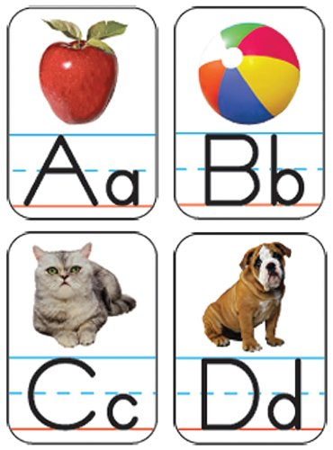 Carson Dellosa Alphabet: Photographic Shape Stickers (168012) - 1