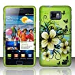 hawaiian flowers design phone case for the Samsung Galaxy S II/SGH-i777 carried by AT&T