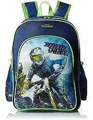 Simba 16 Inches Dark Blue Children's Backpack (BTS-2034)