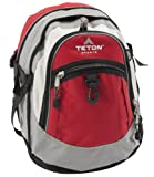 TETON Sports Bookbag (Red/Grey)