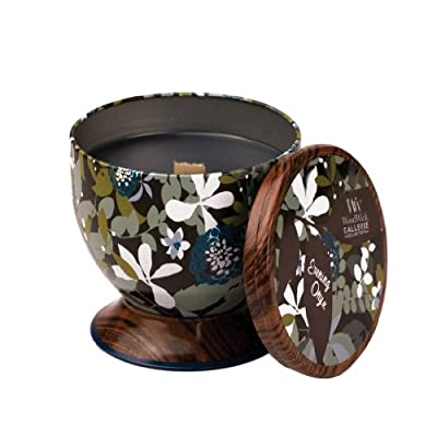 Woodwick Gallerie Evening Onyx Candle Tin from Cargo