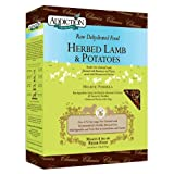 Addiction Raw Dehydrated Grain-Free Dog Food, Herbed Lamb and Potatoes, 2 Pound Box
